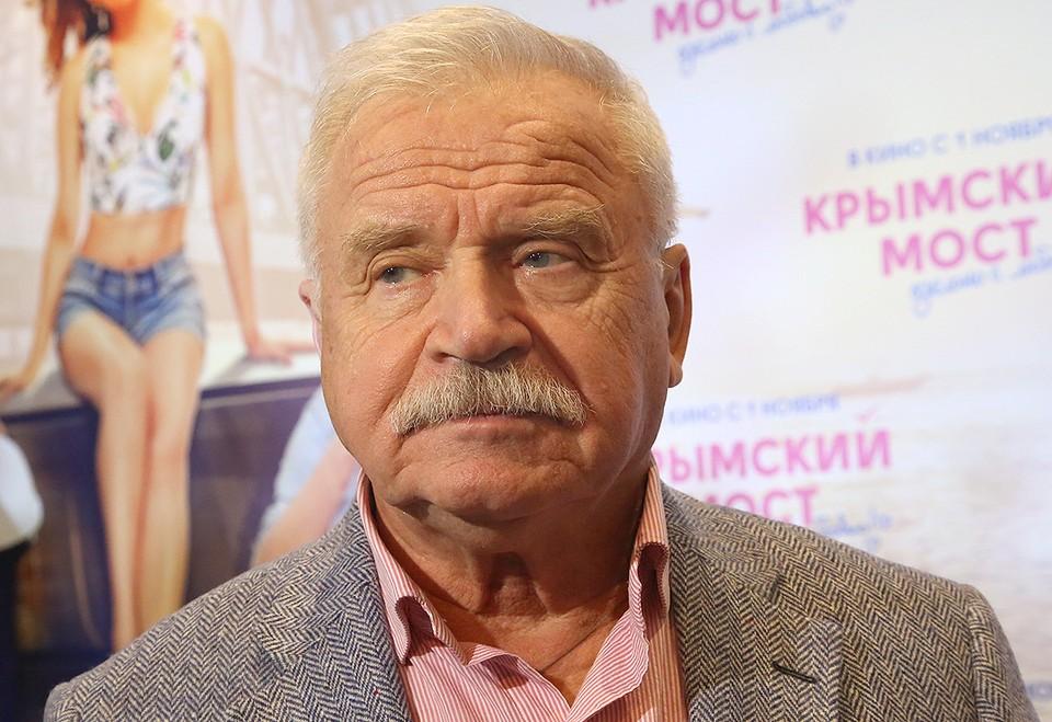 Актер Сергей Никоненко.
