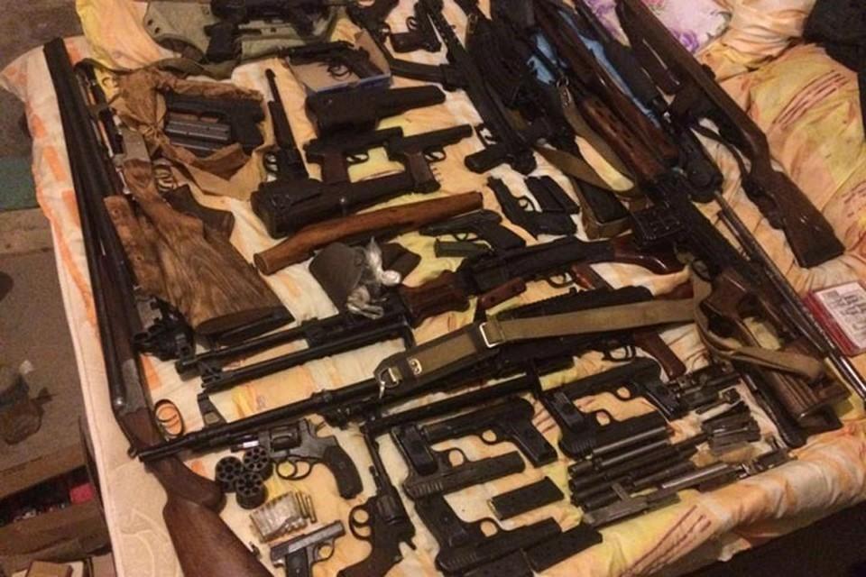 Из криминального оборота изъяты 222 боевых стволов. Фото: МВД РФ