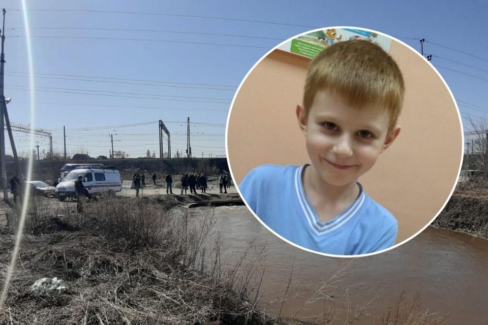 Спасатели и волонтеры нашли тело ребенка в реке 18 апреля. Фото: Предоставлено местными жителями