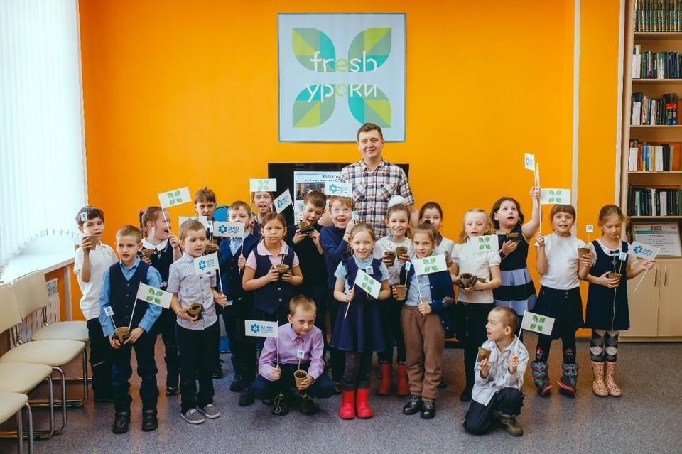Детям рассказали о богатствах леса и необходимости их сохранения. Фото: пресс-служба «Разрез Кийзасский».