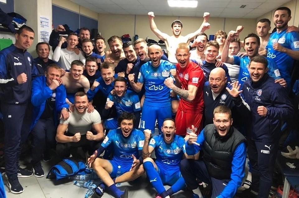 Пока КАМАЗ идет третьим во второй лиге и еще может осуществить задуманное на следующий сезон. ФОто: ФК КАМАЗ.