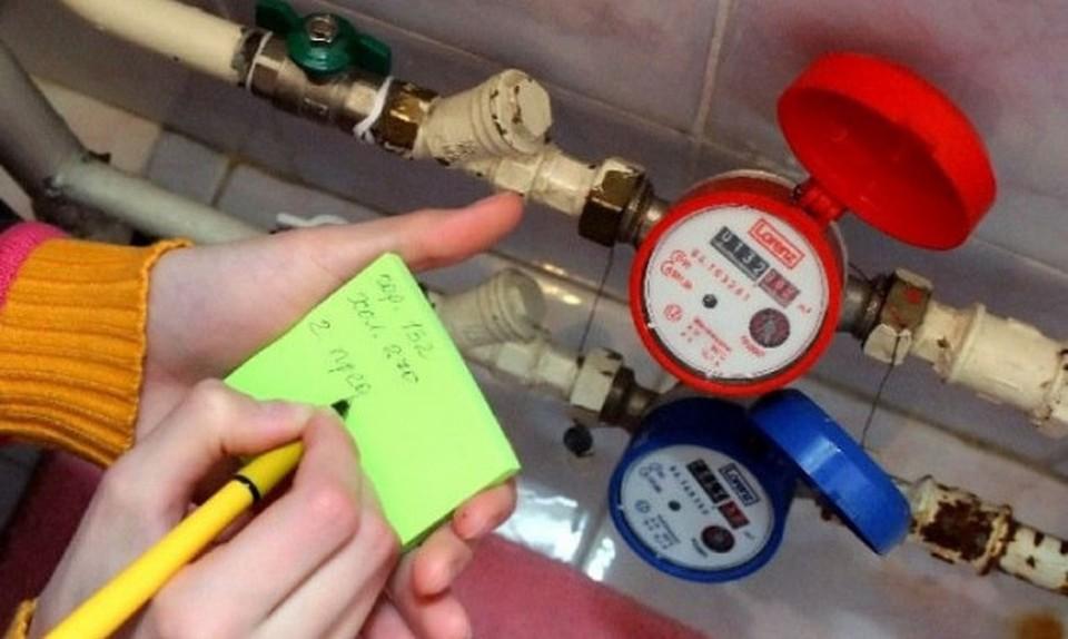 В Молдове чрезвычайное положение, а проверяющие ходят по домам, снимают показания водомеров. Фото: соцсети
