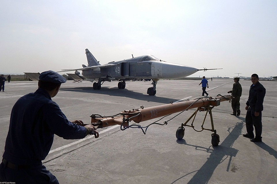 Сирийцы обратились за помощью к нашим специалистам, и командование приняло решение нанести авиаудар