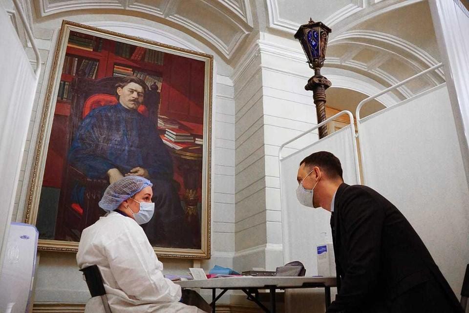 Коронавирус в Нижнем Новгороде, последние новости на 21 апреля 2021 года: новый пункт вакцинации от COVID-19 открыли в Нижегородском театре драмы