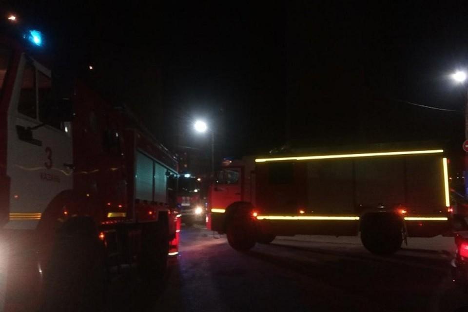 Пожар произошел на улице Энергетиков.