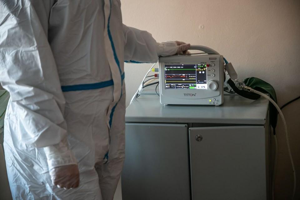 В отделении реанимации и интенсивной терапии находятся 83 пациента.