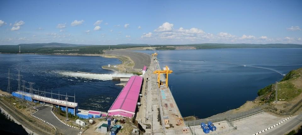 Богучанская ГЭС. Фото: архив компании
