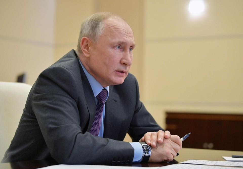 Песков: Путину доложили об идее Зеленского о встрече в Донбассе