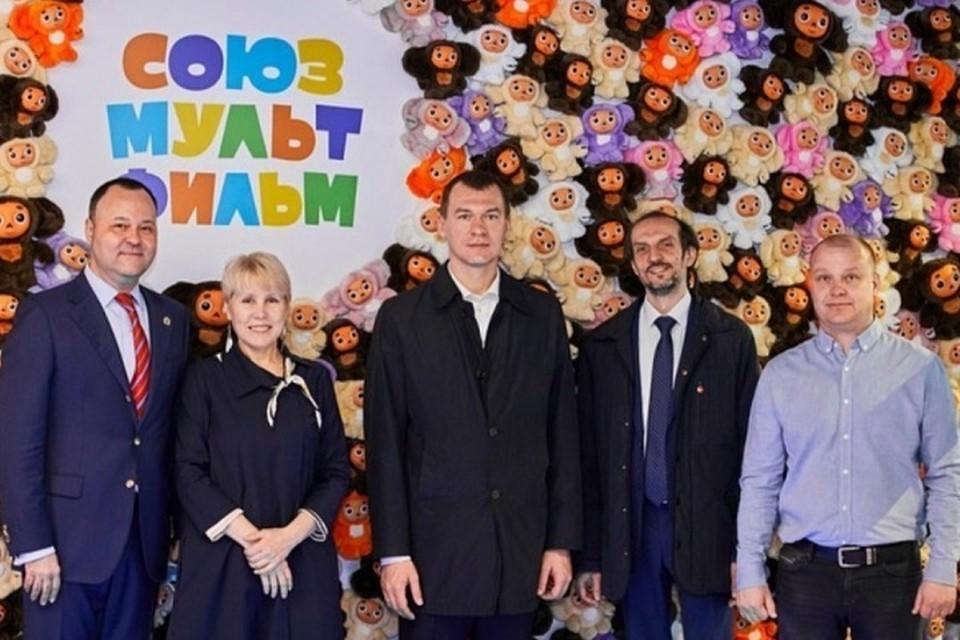«Союзмультфильм» заходит на территорию Хабаровского края