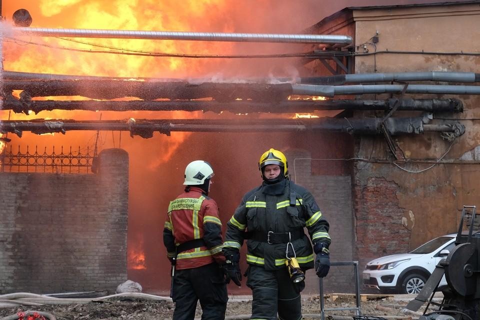 Пожар удалось потушить быстро