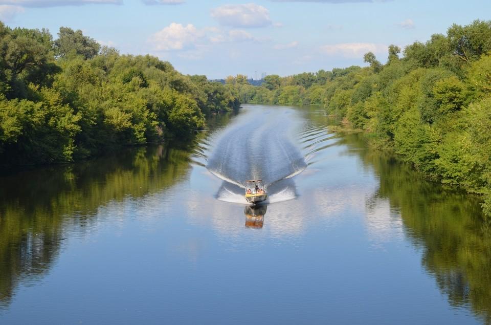 В Орле на день запретят навигацию по реке Оке