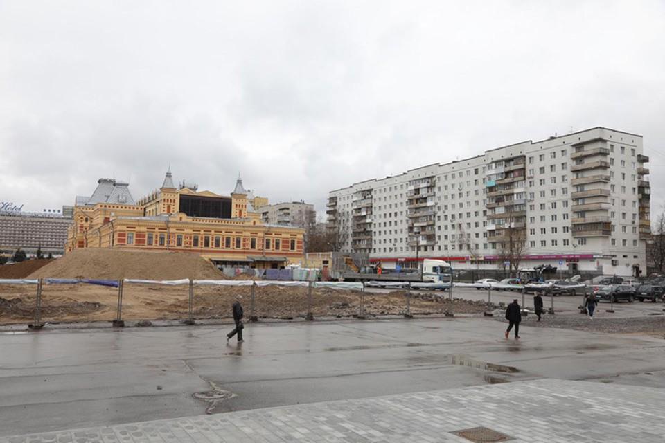 Большие качели и ростовой павильон: Как преобразится территория вокруг Нижегородской ярмарки.