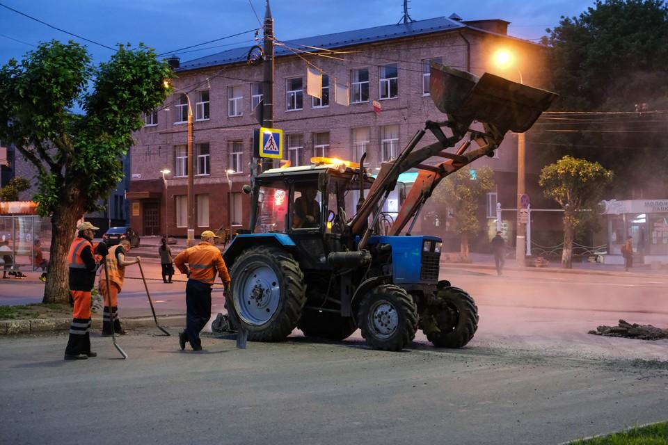 Более 300 млн рублей направили на содержание дорог и социальных учреждений Ижевска в 2021 году