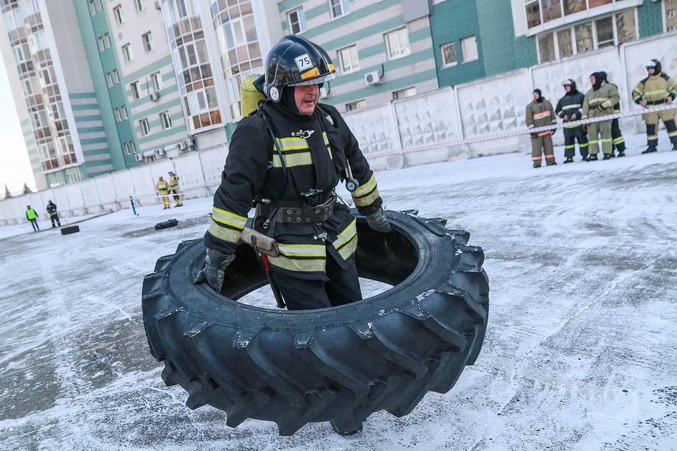 В Барнауле прошел турнир среди пожарных.