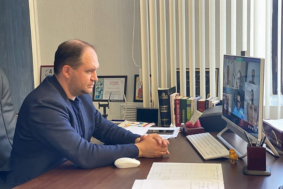 Ион Чебан на онлайн-встрече с представителями Посольства Великобритании.