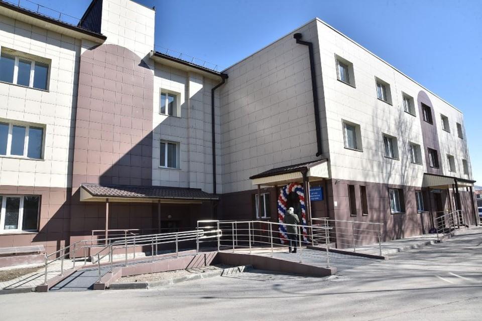 Детский стационар Обской центральной городской больницы переехал в новое здание. Фото: пресс-служба Правительства Новосибирской области