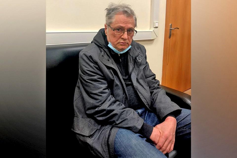 Задержанный ученый Александр Кибальченко. Фото: ГУ МВД по Москве.