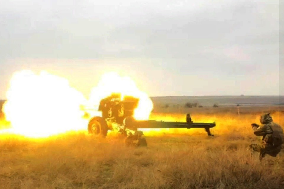 Украинские военные продолжают вести страшную летопись войны. Фото: штаб «ООС»