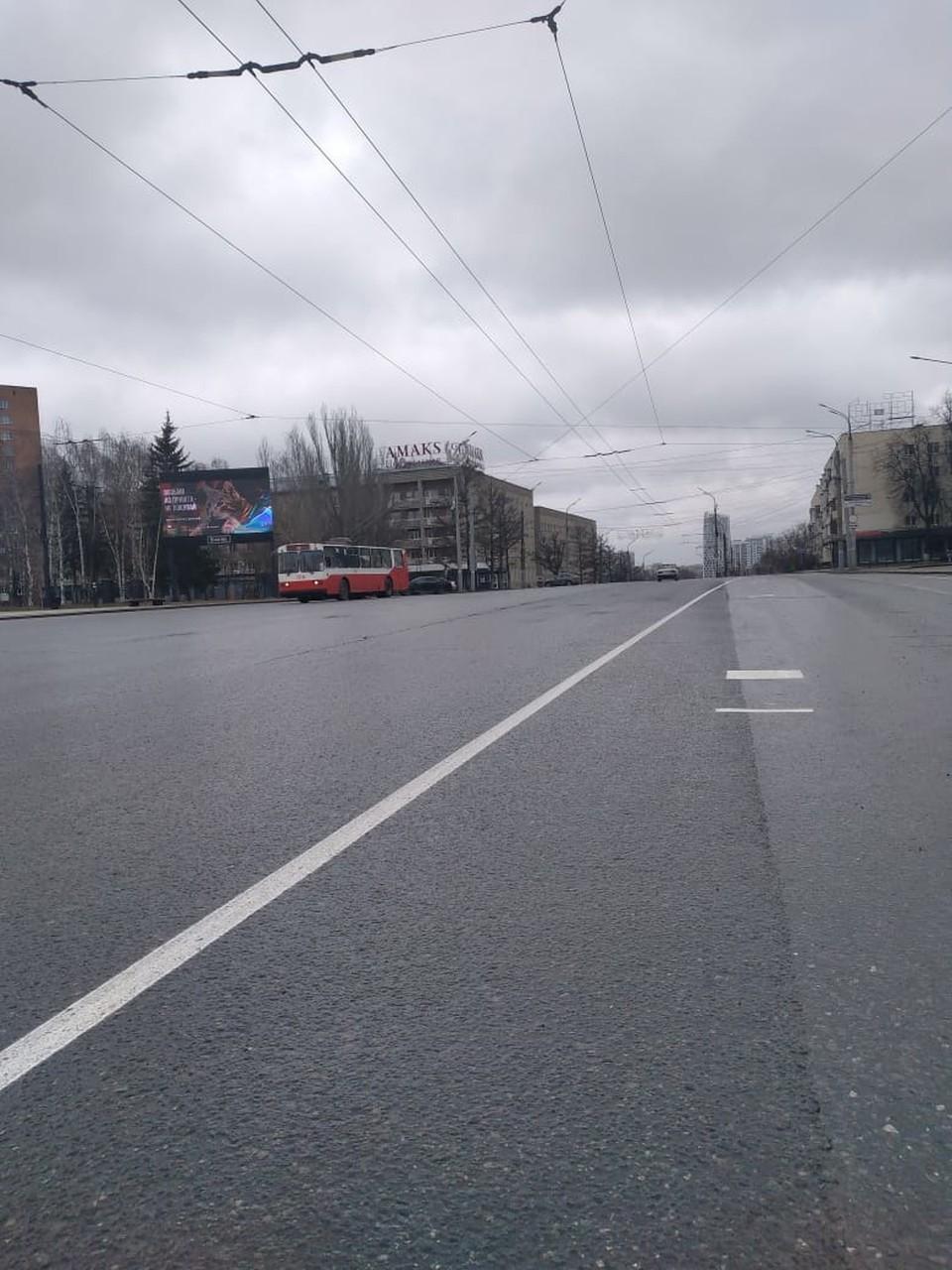 Водителям необходимо на участке ориентироваться на знаки, Фото: Администрация Ижевска