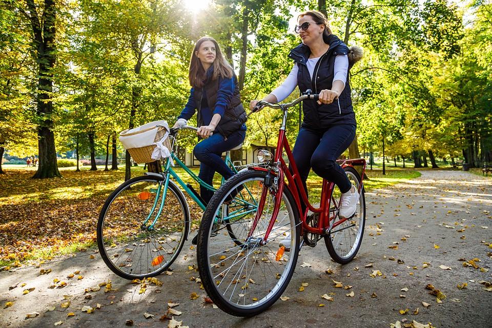 При езде на велосипеде в работу включается 70% мышц нашего тела, то есть больше, чем во время бега