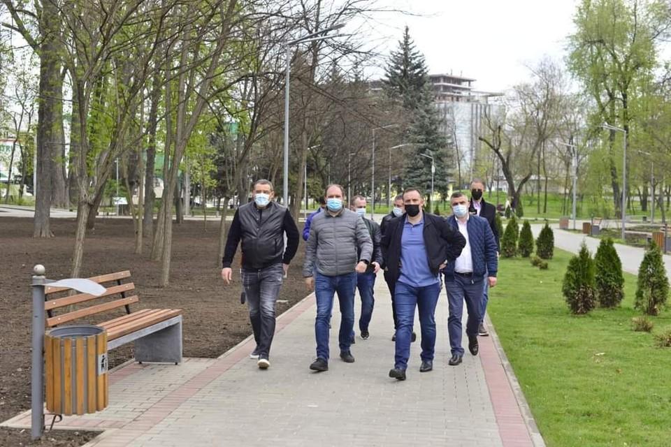 Генеральный примар Кишинева отметил, что и в дальнейшем инвестиции будут направляться на модернизацию парков и скверов Кишинева. Фото: ionceban.md
