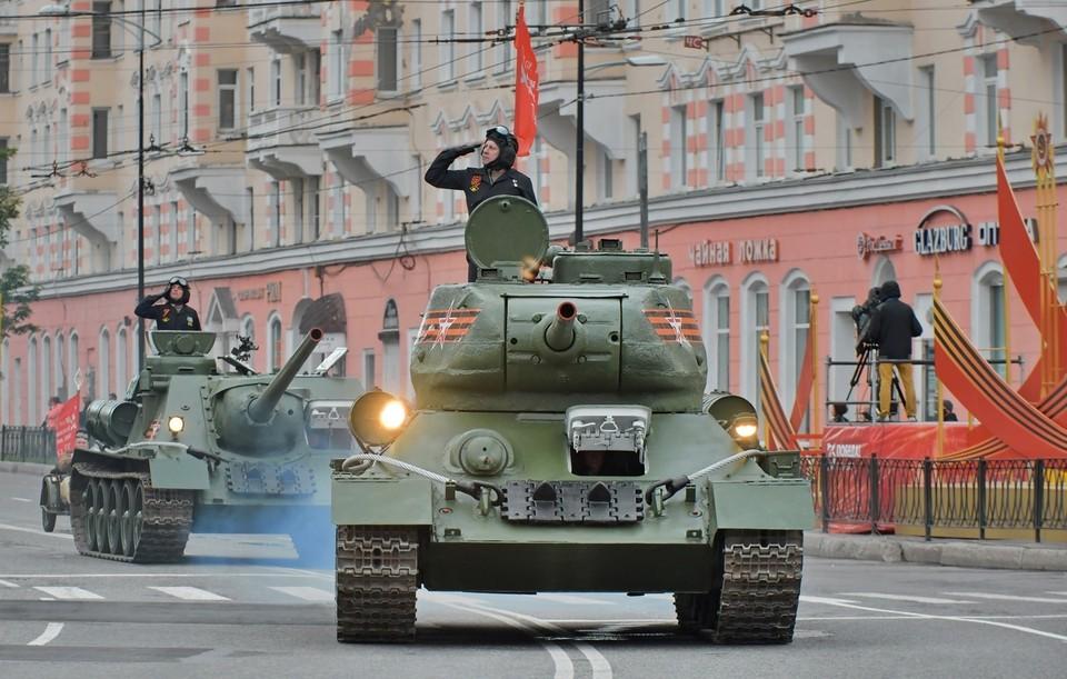 Стали известны даты репетиций парада к 9 Мая в Мурманске.