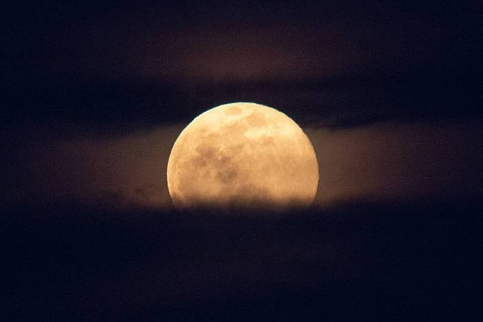 Полнолуние 26 апреля 2021: прямая трансляция восхода Розовой Луны