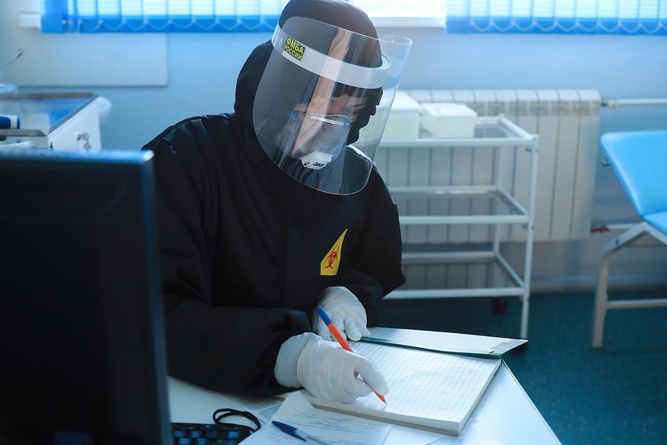 В Красноярском крае за сутки от коронавируса скончались еще 10 человек