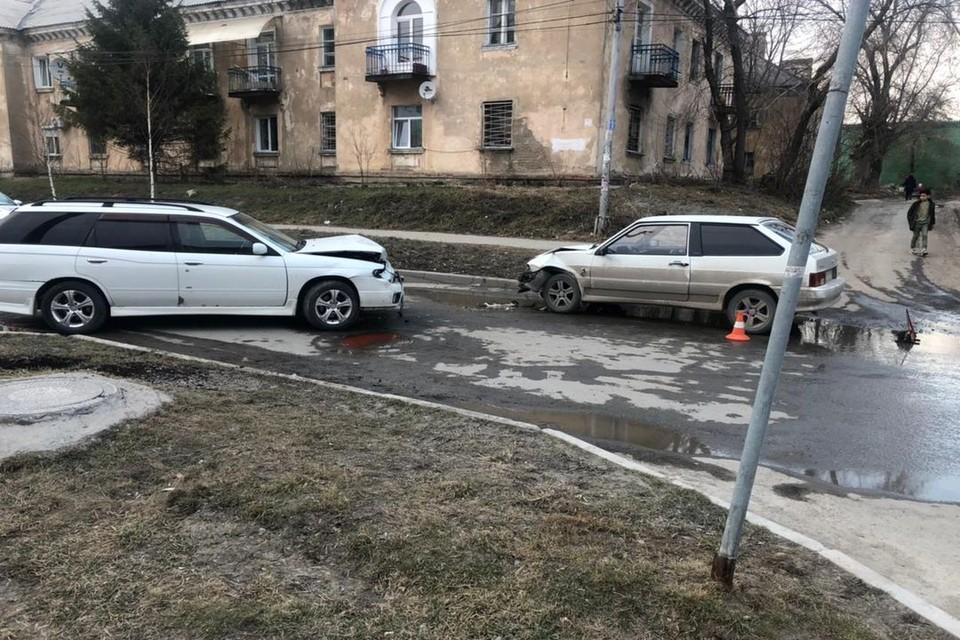 В ДТП в Новосибирске пострадали двое детей. Фото: Госавтоинспекция по Новосибирской области