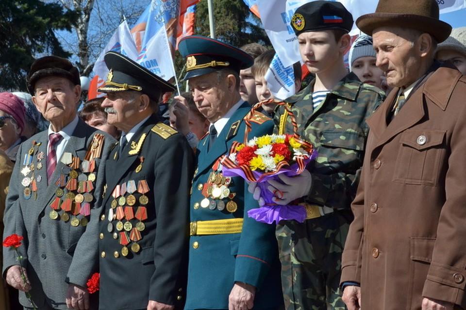 Участники Великой Отечественной войны получат по 15 тысяч рублей