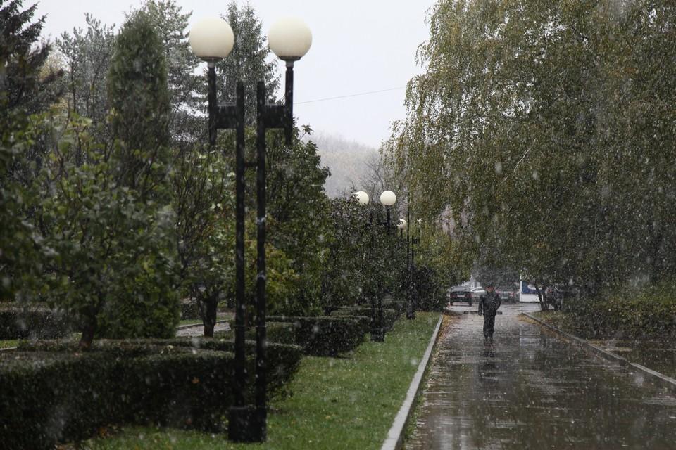 Ночью местами небольшие осадки в виде дождя и мокрого снега.