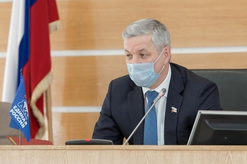 Андрей Луценко, председатель ЗСО