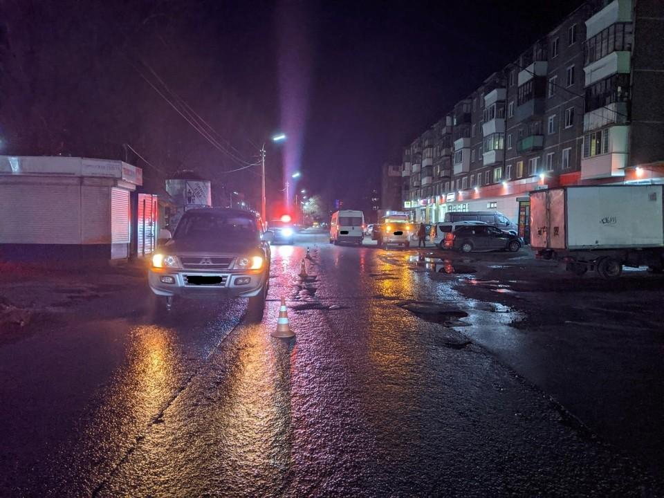 В Заводском районе Орла девушка-пешеход попала в больницу после ДТП