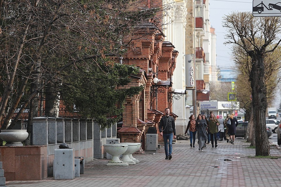 Погода в Красноярске на 29 апреля 2021: ожидается до +13 градусов и дождь