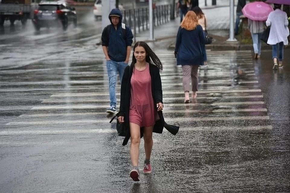 На улице будет тепло, но дождливо.