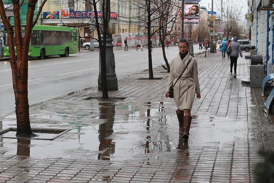 Погода в Красноярске на 30 апреля 2021: ожидаются дождь, ветер и +12 градусов