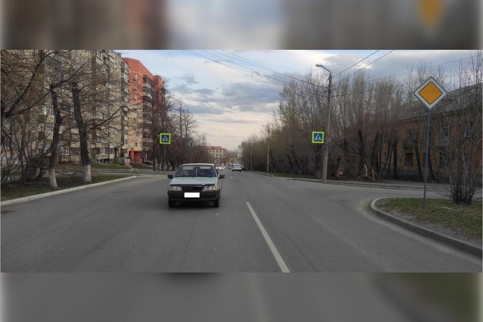 За рулем ВАЗ находился мужчина 30 лет. Фото: ГИБДД Челябинска