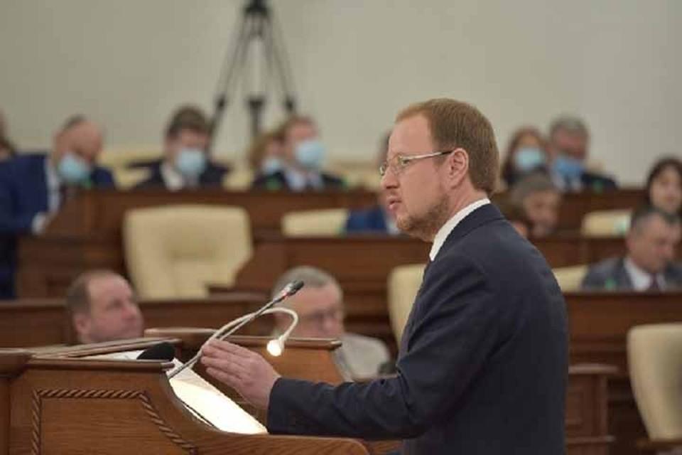 Виктор Томенко на отчете