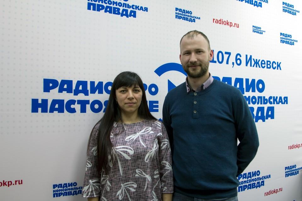 Эдуард Кудрин, директор кадастровой компании «Меридиан» и Наталья Дергачева, начальник юридического отдела кадастровой палаты по Удмуртии