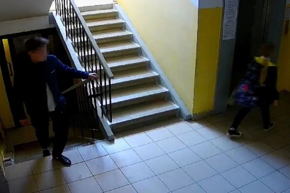 Парень преследовал девочку от школы. Фото: предоставлено источником КП.