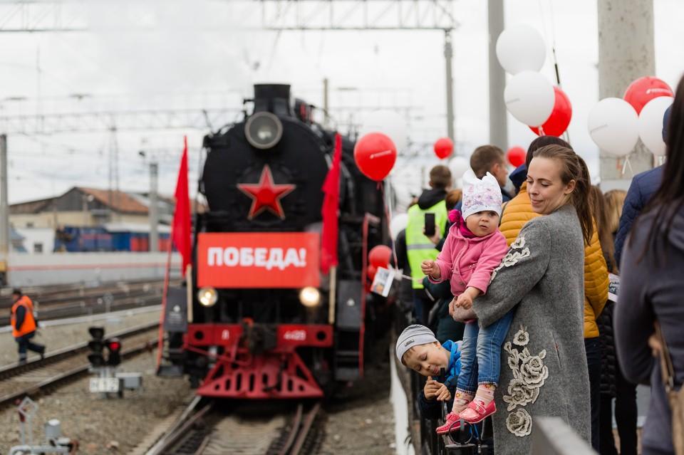 Ретропоезда приедут в три города Челябинской области