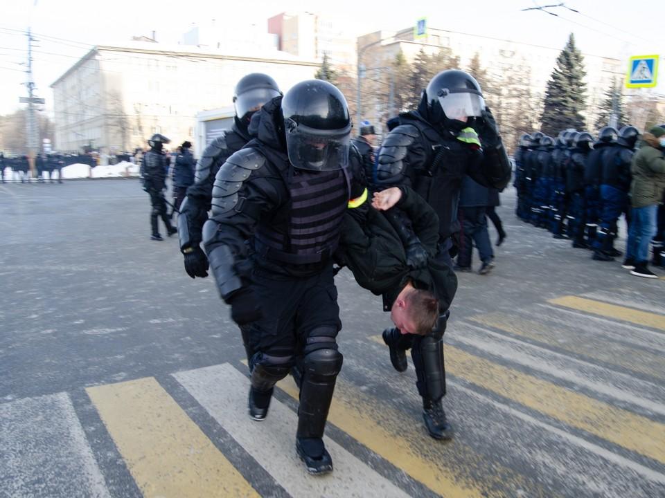 Акции протеста не были согласованы
