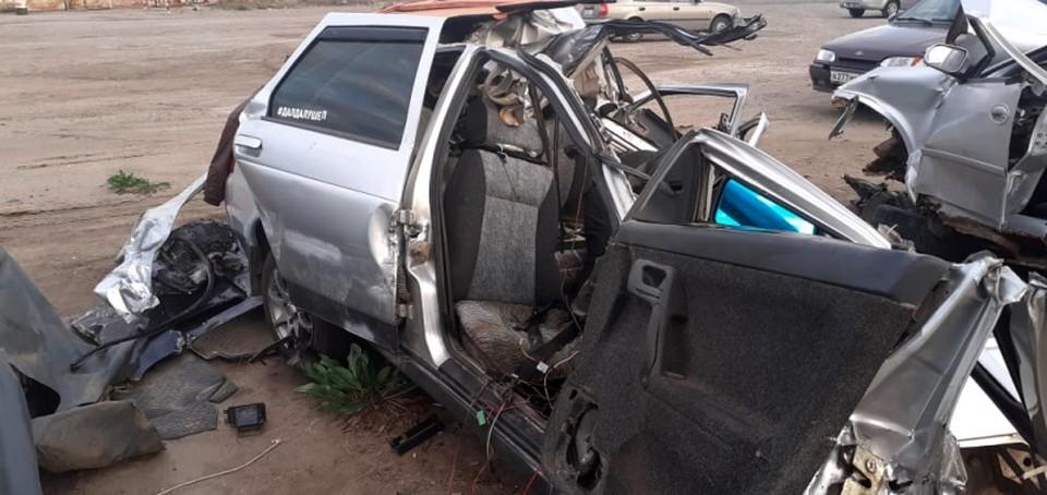 Авария произошла на трассе Р-215 «Астрахань — Кочубей — Кизляр — Махачкала»