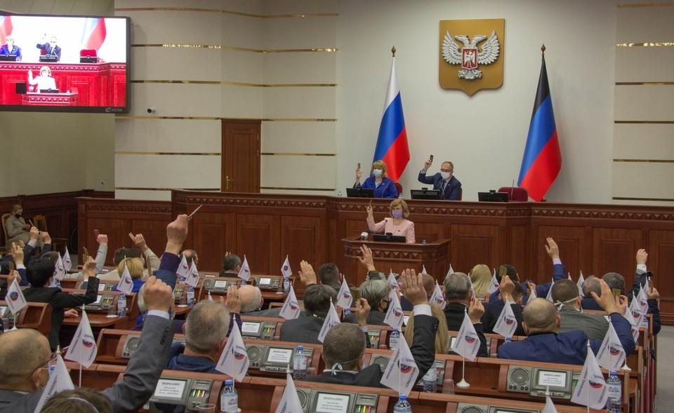 В НС ДНР внесли изменения в Уголовный кодекс Республики