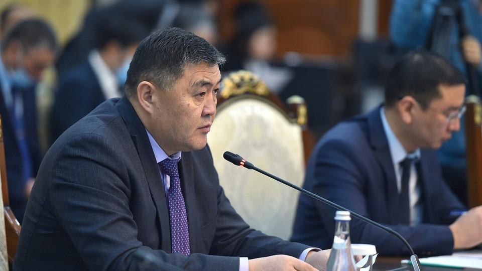 Кыргызскую делегацию на переговорах возглавил Ташиев.