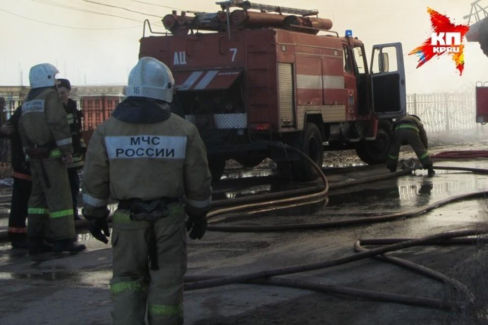 В пожаре пострадала 64-летняя женщина.