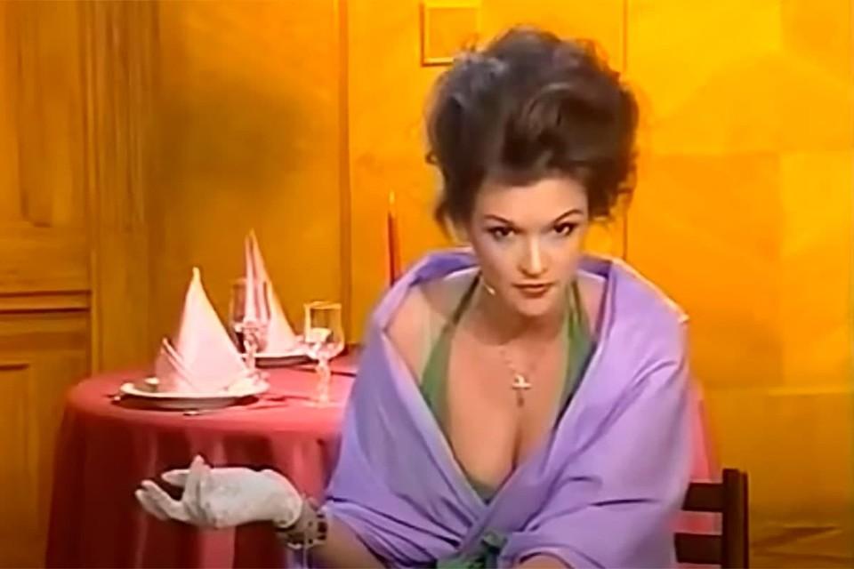 Во время учебы актрисе не раз доводилось участвовать в творческих вечерах