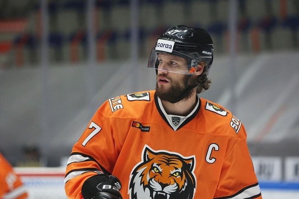 """Чешский хоккеист будет играть за хабаровский хоккейный клуб до 2023 года. Фото: пресс-служба ХК """"Амур""""."""