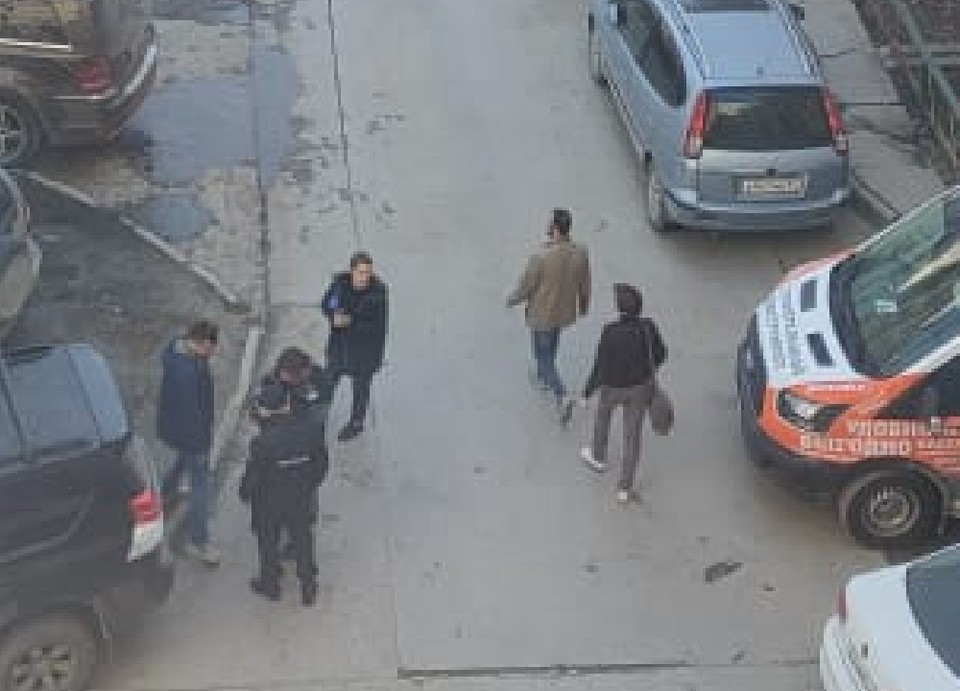 Полиция оперативно прибыла на место конфликта.