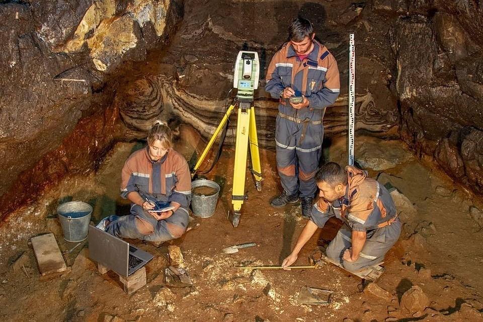 Денисова пещера (фото: Институт археологии и этнографии СО РАН)